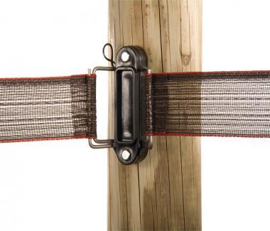 Lint eind-/hoek-isolator met RVS klem
