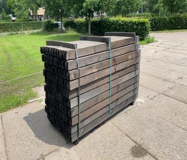 Omheining Palen 10x10x225cm Dura²