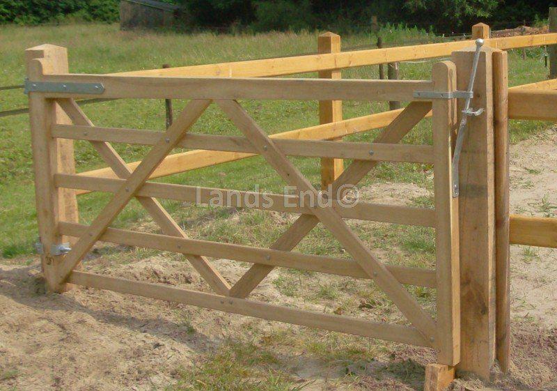 Bekend Houten poort online kopen | Lands End #WK94