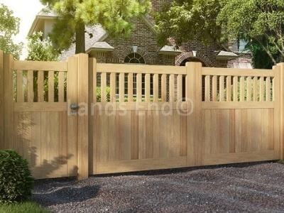 toegangspoort erfpoort hardhout markies poortdeur